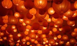 Lanternes japonaises Photo libre de droits