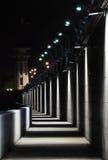 Lanternes légères sur le remblai Image libre de droits