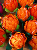 lanternes oranges Photographie stock libre de droits