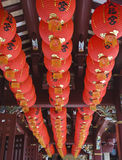 Lanternes rouges image stock