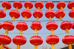 Lanternes rouges Image libre de droits