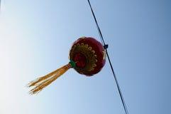 Lanternes rouges chinoises (tanglung) image libre de droits
