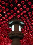 Lanternes sur l'anniversaire de Bouddha, Séoul, Corée Photographie stock libre de droits