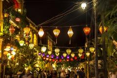 Lanternes, touristes Images stock