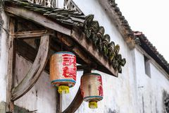 Lanternes traditionnelles photos stock