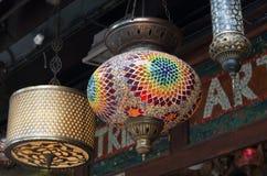 Lanternes turques photographie stock libre de droits