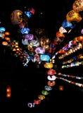 Lanternes turques Images libres de droits