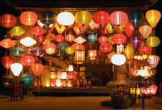 Lanterns. In Hoi An Ancient Town,Vietnam Stock Photography