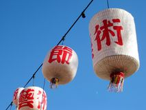 Lanterns Stock Image
