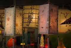 Lanterns Royalty Free Stock Photo