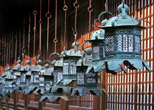 Lanterns. Row of Lanterns in Japan Stock Photography
