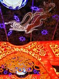Lantern Festival in Zigong, China. Lanterns, also known as flower lanterns, is a popular traditional Chinese folk arts and crafts as New Year celebration Royalty Free Stock Photography