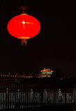 Lanterns And Historic Spot Stock Photo