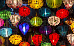 Free Lanterns At Old Town Shop In Hoi An, Vietnam. Royalty Free Stock Photography - 46312047