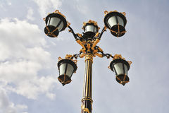 Lanterns in the Baroque style Stock Photography