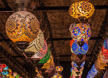 Lanterns. In Camden town Market, London Stock Photography