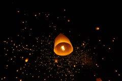 Lanterns floating Stock Photography