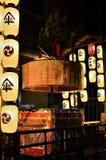 Lanterns of Gion Matsuri festival in summer, Kyoto Japan. Stock Photography