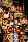 Lanterns in Grand Bazaar. Istanbul Stock Images