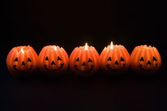Lanterns for Halloween Royalty Free Stock Photo