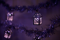 Lanterns with holy twigs Stock Photo