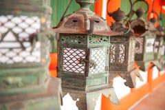 Lanterns in Japan Royalty Free Stock Photography