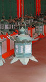 Lanterns in Kasuga Taisha shrine in Nara, Japan Stock Image