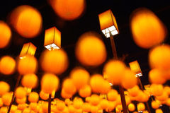 Lanterns of Lantern Festival Royalty Free Stock Photo