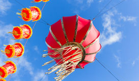 Lanterns in London for Chinese New Year Royalty Free Stock Images