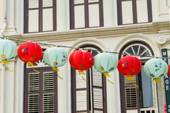 Lanterns at Mid Autumn festival in Garden by The Bay, Singapore.  Stock Photography