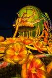 Lanterns at Mid Autumn festival in Singapore. Lanterns at Mid Autumn festival in Garden by The Bay, Singapore Stock Image