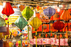 Lanterns in the mid-autumn festival in Vietnamese shop at District 5 , Ho Chi Minh City ( Saigon ), Vietnam Stock Images