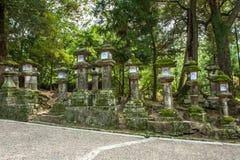 Lanterns in Nara Royalty Free Stock Image