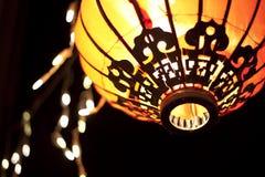 Lanterns at night Stock Photography