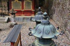 The lanterns at Nikko Tosho-gu, Nikko, Japan Stock Photo