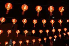 Free Lanterns Of Yokohama Mazu Temple Royalty Free Stock Image - 155587336