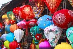 Lanterns in Old Street Hoi An, Vietnam Stock Photography