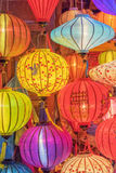Lanterns at old town shop in Hoi An, Vietnam. Stock Photos