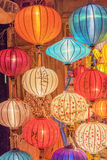 Lanterns at old town shop in Hoi An, Vietnam. Stock Photography