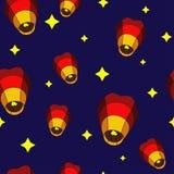 Lanterns Pattern Royalty Free Stock Photos