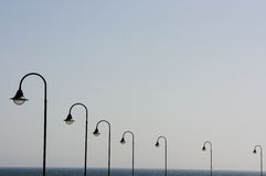 Lanterns in a row Stock Photos