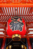 Lanterns at Sensoji Asakusa Temple Stock Image