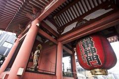 Lanterns at Sensoji Asakusa Temple Royalty Free Stock Photography