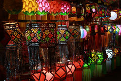 Lanterns Shop Royalty Free Stock Images