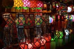 Lanterns Shop Royalty Free Stock Images