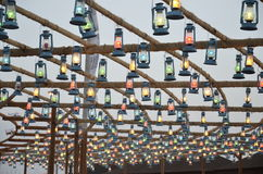 The Lanterns. Souk Okaz Exhibition, Taif, Saudi Arabia Stock Photography