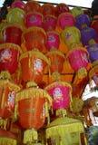 Lanterns Tower Royalty Free Stock Photos