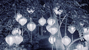 Vietnamese Lanterns royalty free stock images