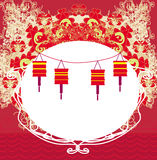 Lanterns will bring good luck Royalty Free Stock Photos