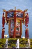 LanternTiananmen chinois Pékin carré Photo libre de droits